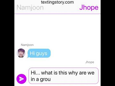 BTS funny group chat😂 - text imagine texting story