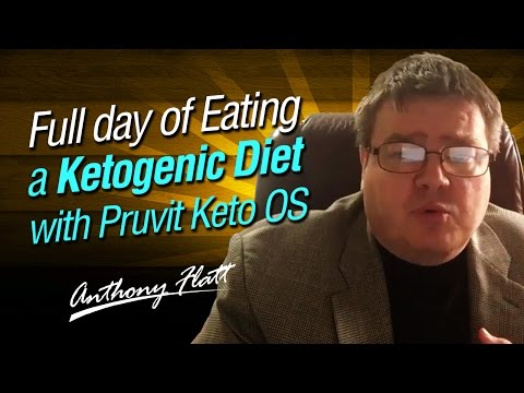 Full day of Eating a Ketogenic Diet with Pruvit Keto OS  - Ketogenic Diet Before and After