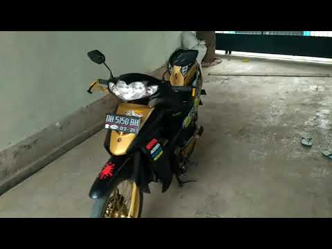 Modifikasi Shogun 125 Samurai Paint