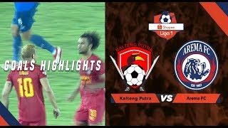 Kalteng Putra  4  Vs Arema Fc  2  - Goal Highlight   Shopee Liga 1
