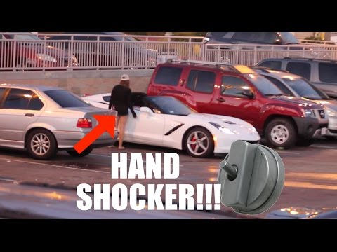 Gold Digger Prank Part 7!!! Feat. HAND SHOCKER!!!
