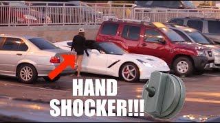 Gold Digger Prank Part 7!!! Feat. HAND SHOCKER!!!
