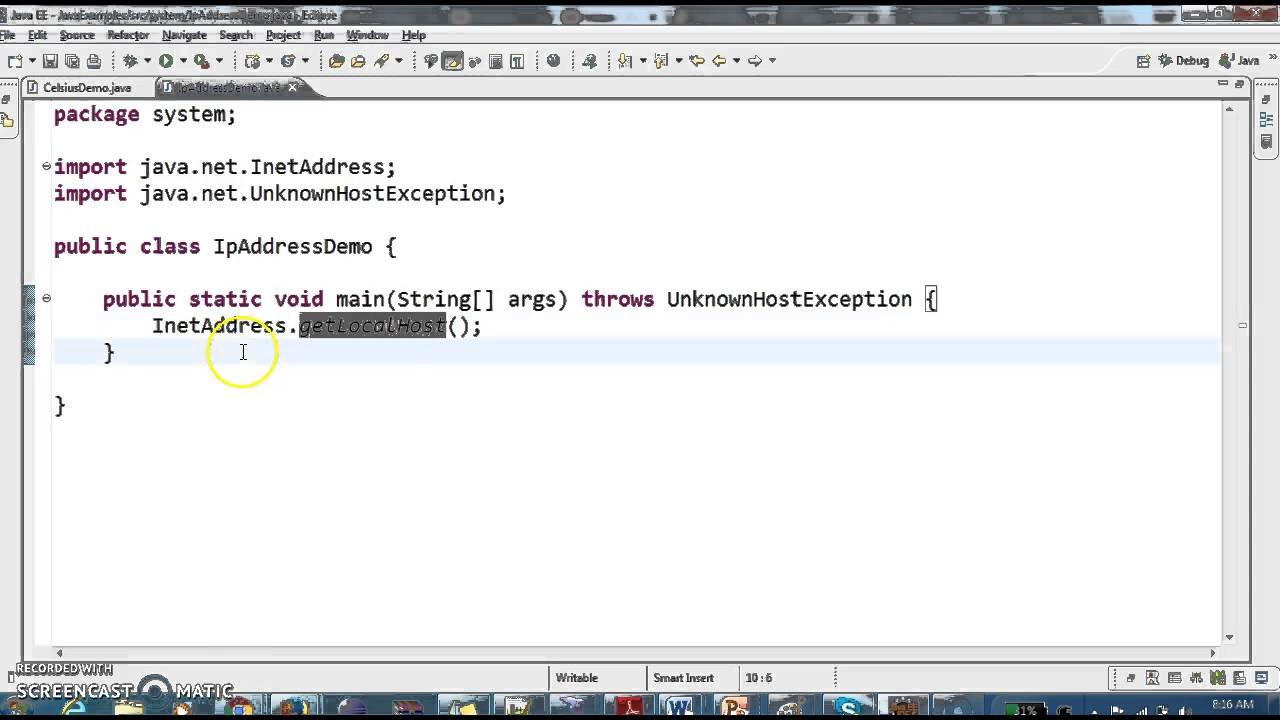 Java get hostname from ip address