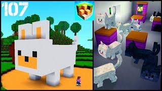 Big Cat House | Cats 🐈🐱 | Block Craft: 3D Building Simulator Games For Free | Gameplay 107 screenshot 3