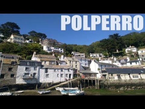Polperro - Cornwall - England - 4k Virtual Walk - July 2020