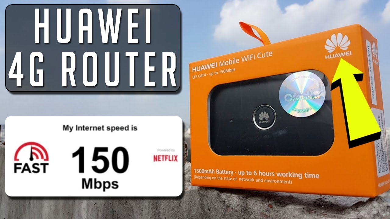 Huawei 4G Mobile WiFi Router- (E5573S)