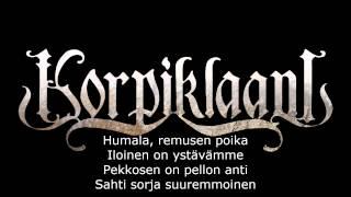 Korpiklaani - Tuoppi olutta (Lyrics)