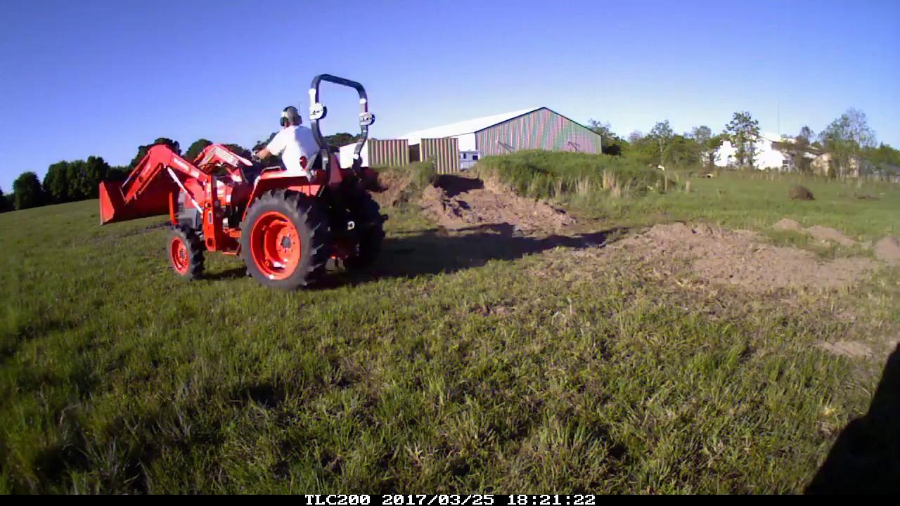 Dirt Work with Kubota L2800