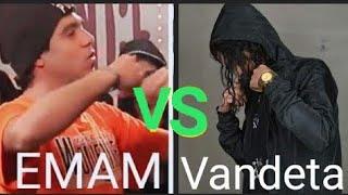 باتل | امام ضد فانديتا | يا تراب يا تموت | راب اور ضاي (كامله) Vandeta VS Emam|Rap or Die