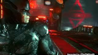 Batman Arkham Knight Batman vs. Jason Todd/Red hood Boss fight