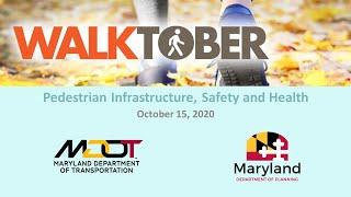 Walkinar #2: Pedestrian Infrastructure, Safety and Health
