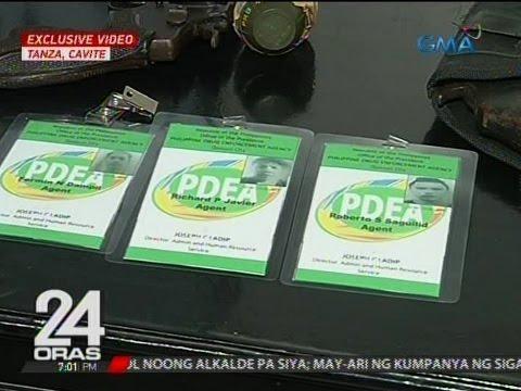 24 Oras: Limang nagpanggap na PDEA agents na sangkot umano sa kidnap-for-ransom, arestado