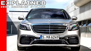 2018 Mercedes S-Class Explained
