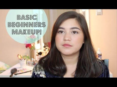 Basic Beginners Makeup Tutorial 2018