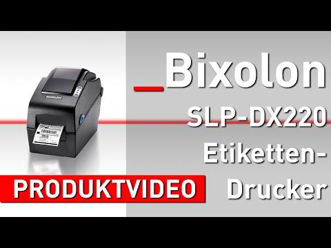Bixolon SLP-DX220 Etikettendrucker   Mediaform Shop   Produktvideo
