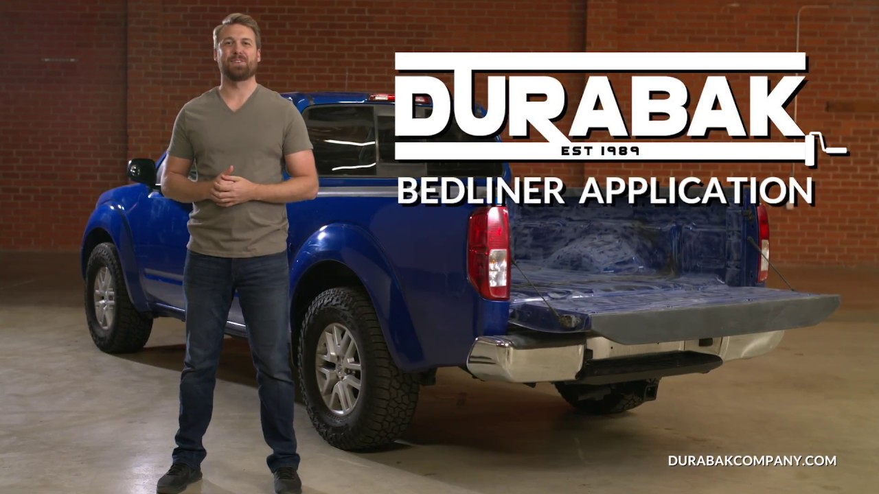 How To Prep And Apply Truck Bed Liner Youtube