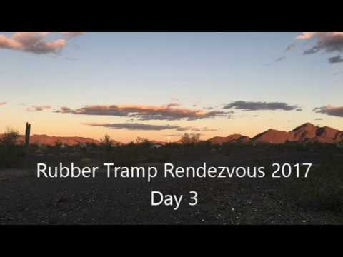 Rubber Tramp Rendezvous 2017 - Day 3 Vlog