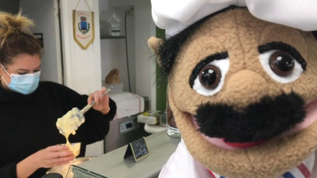 Le chef Pipich en visite au Marché d'Italie