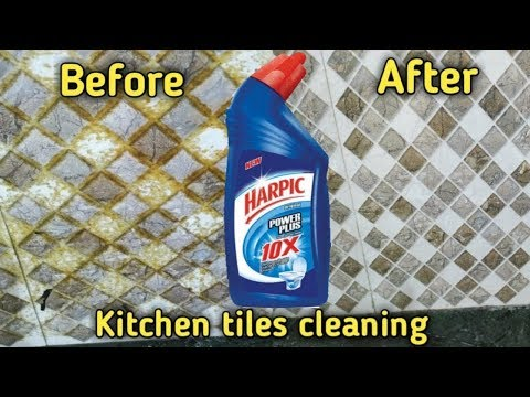 How to clean kitchen tiles | kitchen tiles cleaning