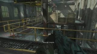 COD :: WORM :: Being rude to an old dude.