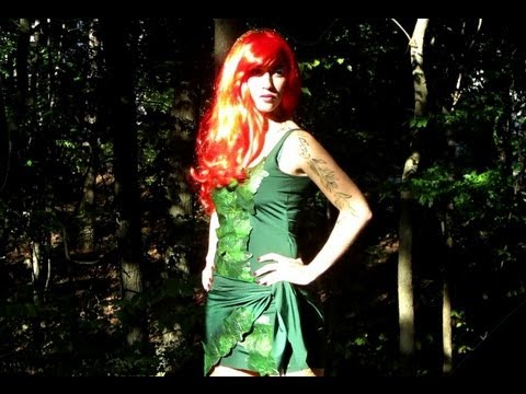 DIY Poison Ivy Halloween Costume! - YouTube