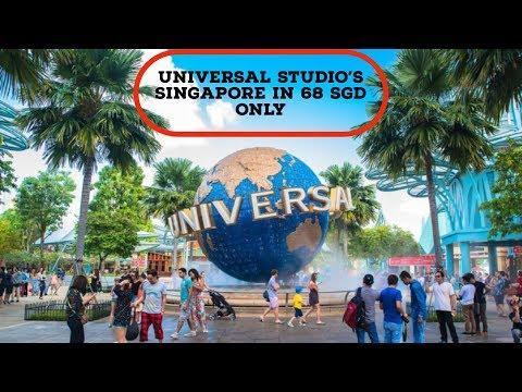 Universal Studios Singapore In Just 68 SGD    Singapore Budget Trip