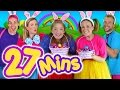 Kids Easter Songs Collection & Lots More! 27mins Easter Bunny Songs Collection Compilation