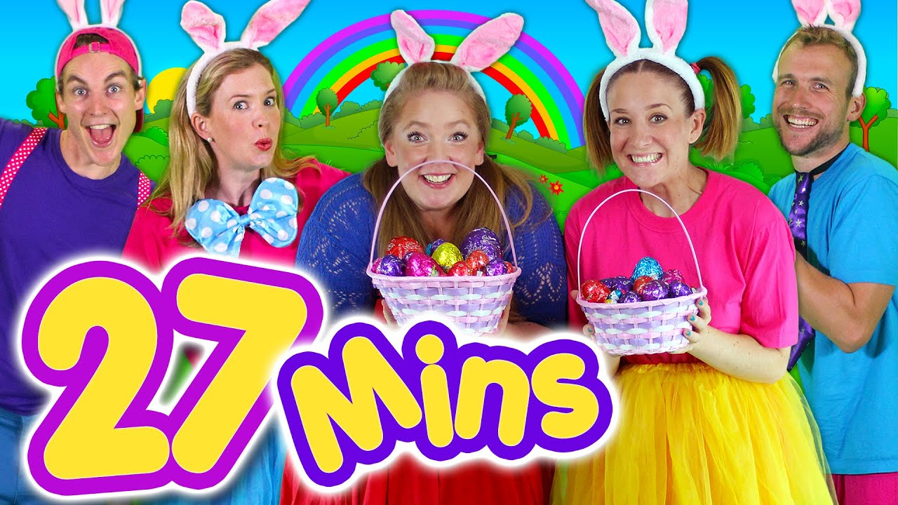 Kids Easter Songs Collection & Lots More! 27mins Easter Bunny ...
