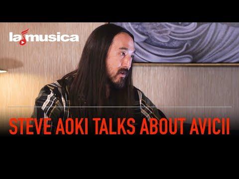 Steve Aoki Talks About Avicii | LaMusica