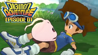 """Digimon Adventure - Ep 1: """"And So it Begins...""""  [PSP/ENG]"""