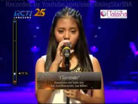 Hanin Dhiya I Surrender Rising Star Indonesia Live Audition Eps  2