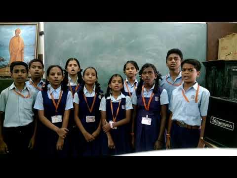 Dhwaj Geet - National Flag song - Zanda Geet, Social Service League School, Parel