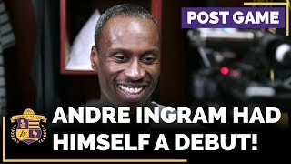 Lakers Rookie Andre Ingram After His Memorable NBA Debut (32 Year Old Rookie!)