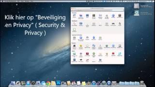 Mac os x gatekeeper alles installeren blokkering opheffen onbekende bronnen toestaan.