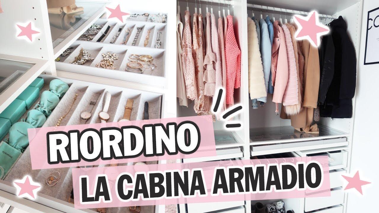Come Organizzare La Cabina Armadio organizziamo insieme - cabina armadio