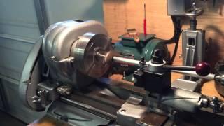 10 inch Atlas metal lathe nice setup  with VFD
