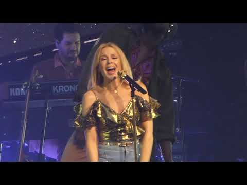 Can't Get You Out of My Head, Kylie Minogue, Belfast, 5th December 2018