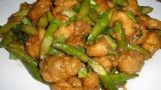 Chicken Stir Fry With Asparagus