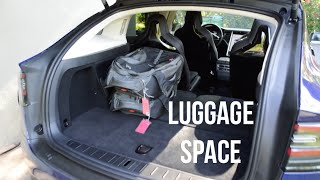 Luggage and Space in the Tesla Model X