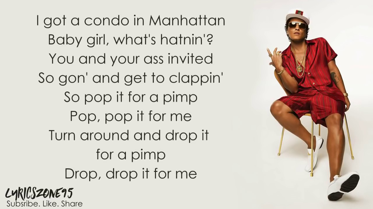 Bruno Mars - That's What I Like (lyrics)