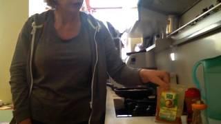 Жарим индейку правильно без масла на коврике для жарки без масла!