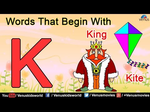 Words That Begin With 'K'