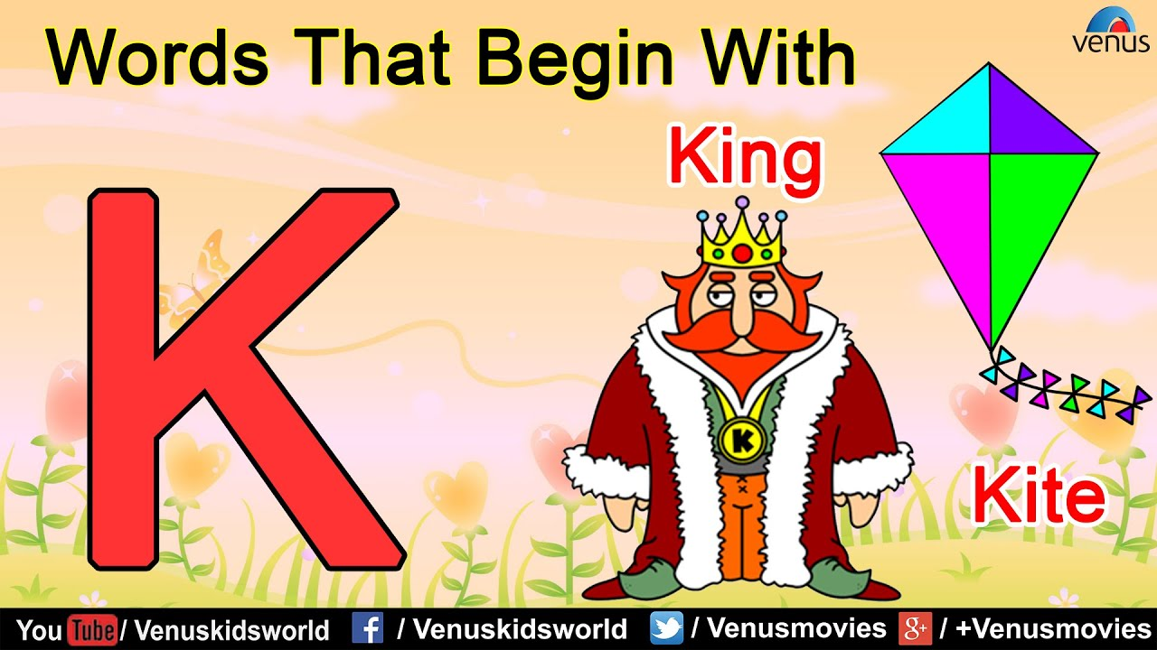 Words that begin with k youtube words that begin with k sciox Images