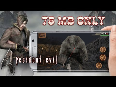 How To Download Resident Evil 4 On Any Android | [75mb] Highly Compressed