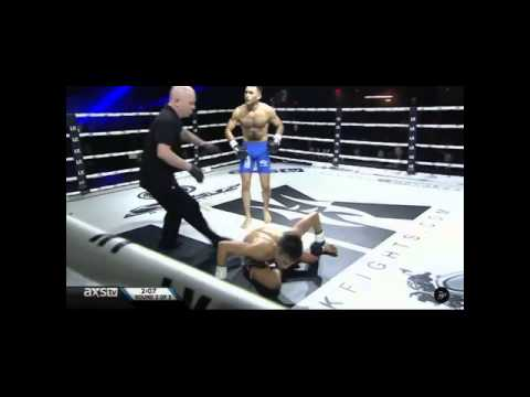 Miguel Torres injures knee in gruesome fashion during kickboxing match
