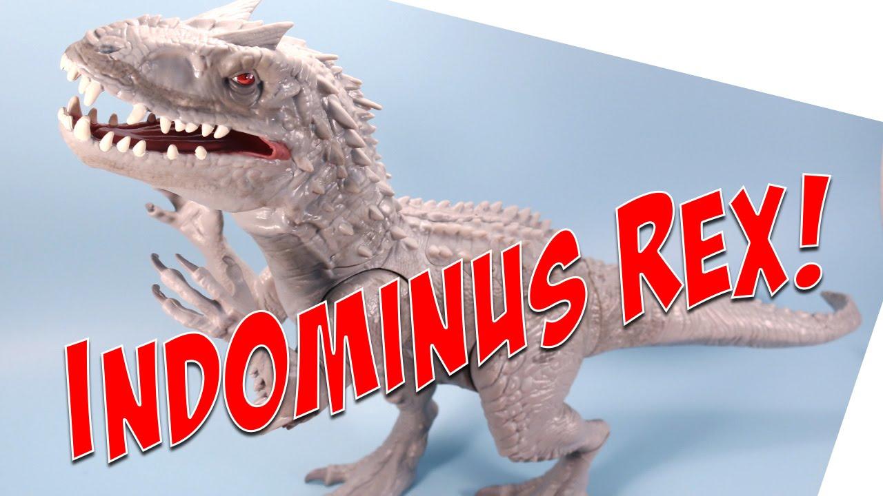 Jurassic World Giant Indominus Rex Dinosaur Opening Review