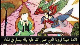 فائدة جليلة لرؤية النبي صلى الله عليه وآله وسلم في المنام