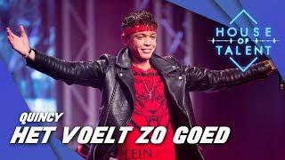 Quincy Wilson ft. Delany - Het Voelt Zo Goed (LIVE)
