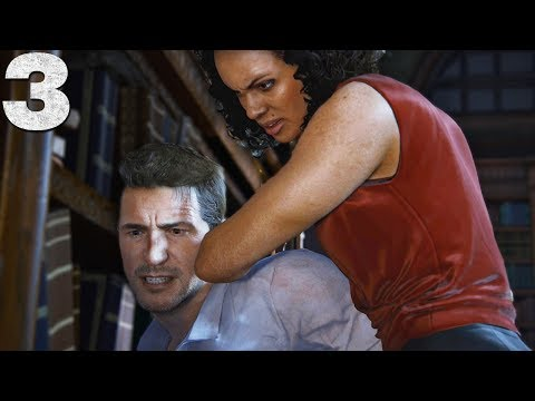 BEAT UP BY NADINE ROSS 😂 - Uncharted 4 - Part 3