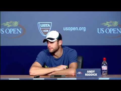 2011 US Open Press Conferences: Andy Roddick (Quarterfinals)